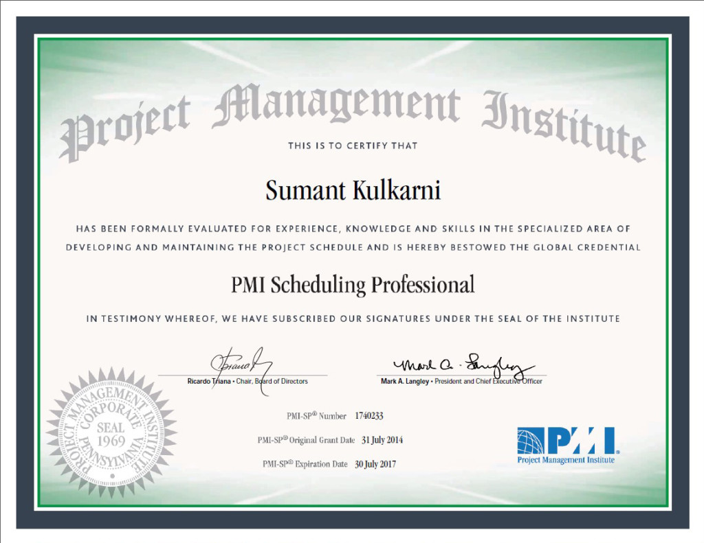 Ra Lin Scheduling Manager Earns Professional Certification Ra Lin